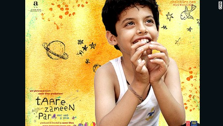 """Taare Zameen Par"" (Stars on Earth), depicts a child stigmatized for his dyslexia."