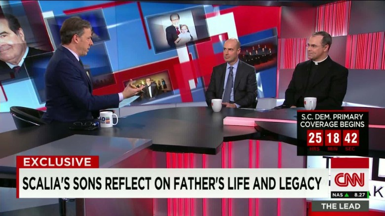 Exclusive: Scalia's sons reflect on father's legacy