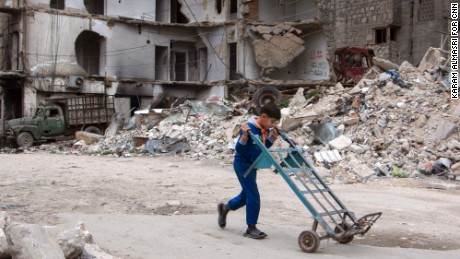 'There are no winners in Aleppo'