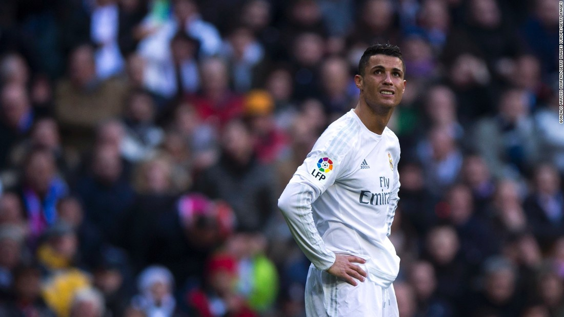 """I don't want to disrespect anyone, but when the best players aren't available it's harder to win. I like to play with Karim, with Bale, with Marcelo,"" Ronaldo continued"