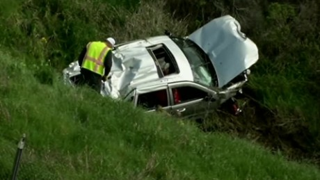 Fatal California freeway shooting causes crash