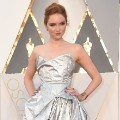 oscars red carpet 2016 Lily Cole
