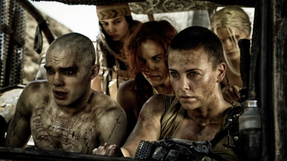 "Best costume design: ""Mad Max: Fury Road"" (Jenny Beavan)"