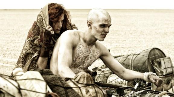 "Best makeup and hairstyling: ""Mad Max: Fury Road"" (Lesley Vanderwalt, Elka Wardega and Damian Martin)"