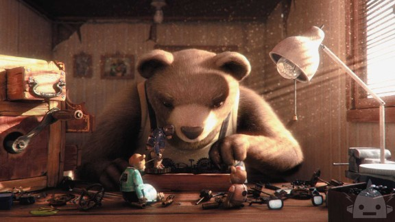 "Best animated short film: ""Bear Story"""