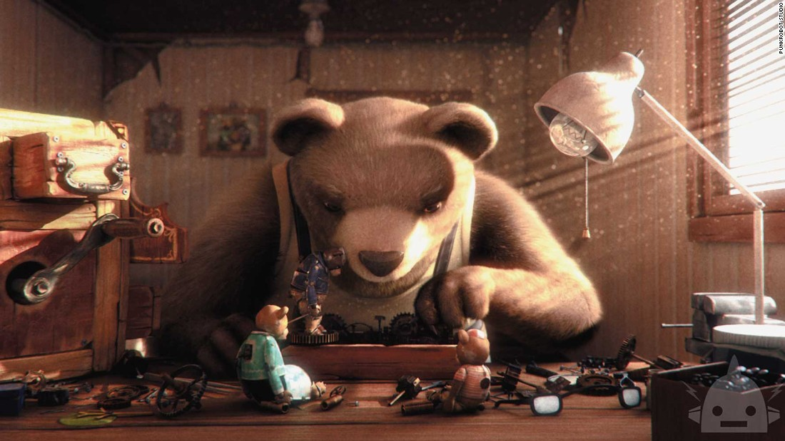"<strong>Best animated short film: </strong>""Bear Story"""