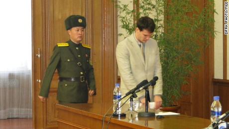 N. Korea sentences U.S. student to 15 years hard labor