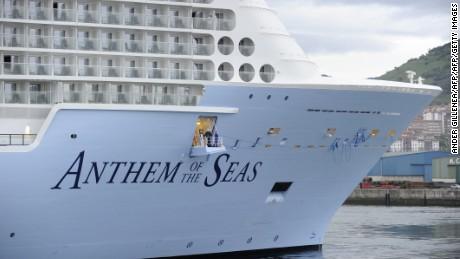 Anthem Of The Seas Voyage Cut Short By Storm Again Cnn