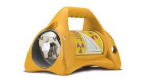 Mexcan authorities released this photo of the type of device that was stolen.