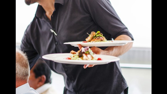 Restaurant workers have a real struggle with food --79% in this study had poor diets. If you work around food, eat something healthy before you go to work and pack a lunch so you are not so tempted.