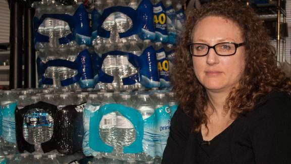 "Flint resident Laura MacIntyre calls the city's water crisis a ""manmade disaster."""