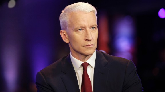 """CNN's own Anderson Cooper, 48, started going gray at age 20. """"You can, of course, dye,"""" he wrote in 2005. """"Plenty of guys do, but if you ask me, you might as well advertise your desperation."""""""