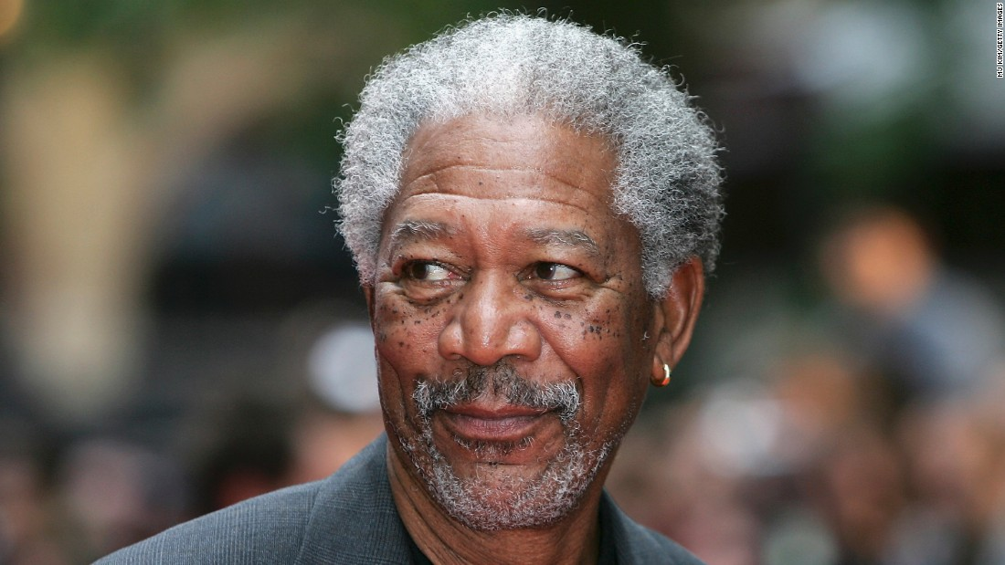 "Some might say Morgan Freeman's gray hair matches his famous voice. When Jimmy Fallon took the helm of ""The Tonight Show,"" 78-year-old Freeman famously <a href=""https://twitter.com/fallontonight/status/492717316472594432"" target=""_blank"">warned </a> that he had ""watched three or four people in this job go gray."""