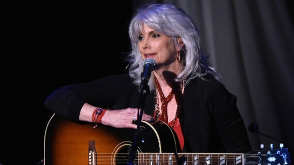 "Singer Emmylou Harris, 68, has been asked about her naturally gray hair many times over the years. During an interview with The New York Times in 2013, she offered this advice: ""Women should do whatever makes them feel good, but I do wish that we would accept our aging selves."""