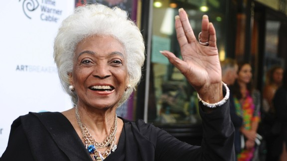 "Nichelle Nichols portrayed Lt. Uhura in the original ""Star Trek"" TV series and films. Now 83, she"