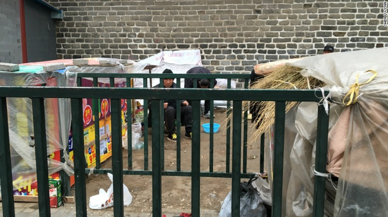Chinese sleep on streets in quest for justice