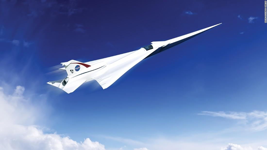 NASA says it will build quiet supersonic passenger jet