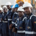 angola steel workers