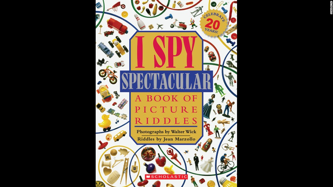 "Jean Marzollo and Walter Wick marked the 20th anniversary of the ""I Spy"" series in 2011 by publishing ""I Spy Spectacular: A Book of Picture Riddles."" It includes a special anniversary section, including the history of the first ""I Spy"" book."