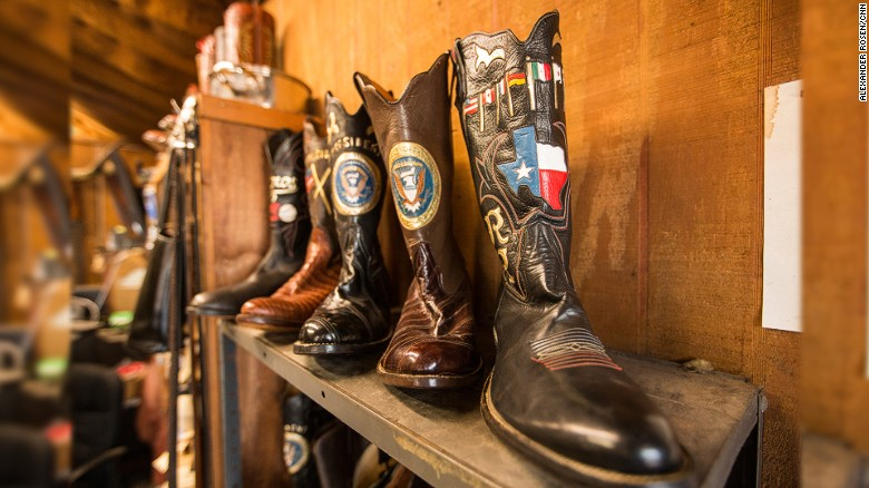The man who makes the presidents' boots