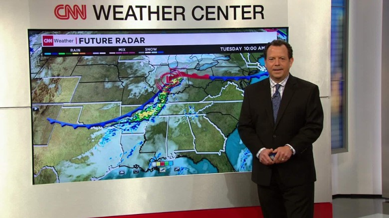 Storms could impact several states heading to the polls