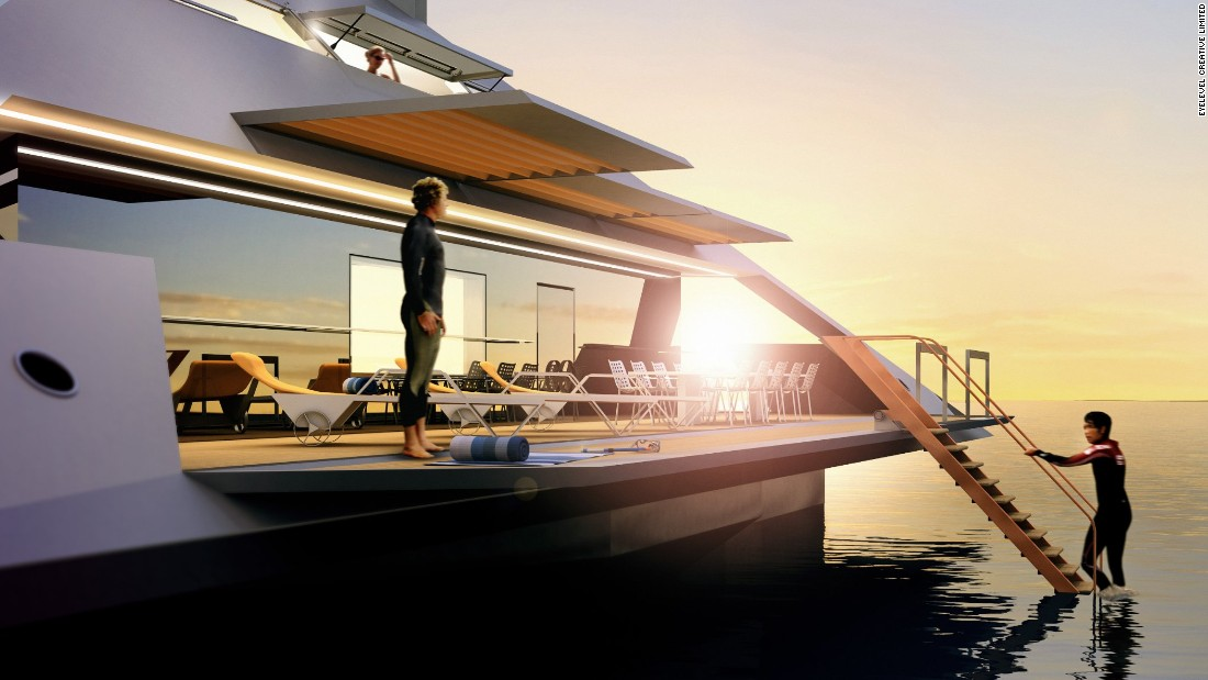"Its cost and planned release date are strictly confidential but there is a ""continuing interest"" in the concept, according to Schwinge. <br /><br />""The Tetrahedron is suitable for private, charter or corporate use,"" he says. ""But a private owner would be a visionary and innovative individual who wants to experience new technological ways in elevated yachting, with 'wave-flying' capabilities and a radically unconventional design."""