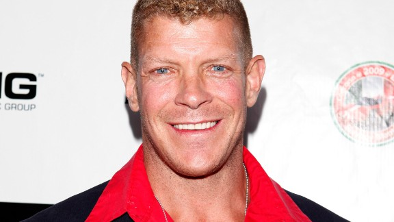 "Lee Reherman, a former football player and star of ""American Gladiators,"" was found dead on March 1. He was 49 years old."