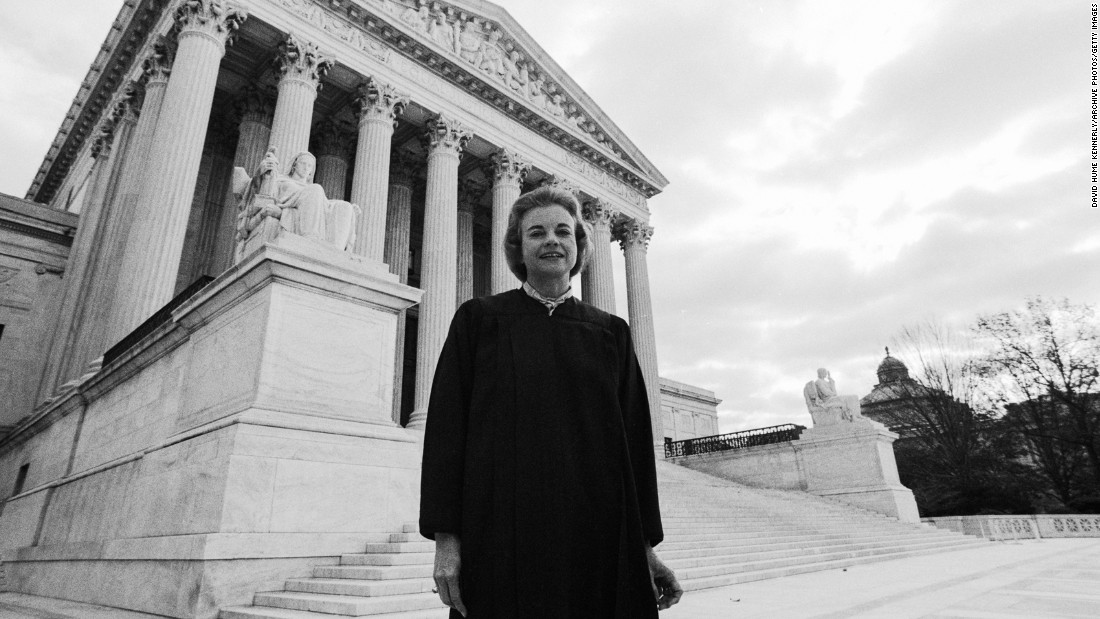 "<strong>A female first:</strong> On September 25, 1981, Sandra Day O'Connor became the first woman to be appointed to the U.S. Supreme Court. She later said on <a href=""http://www.npr.org/2013/03/05/172982275/out-of-order-at-the-court-oconnor-on-being-the-first-female-justice"" target=""_blank"">NPR's ""Fresh Air"":</a> ""I felt a special responsibility ... as the first woman. ... It became very important that I perform in a way that wouldn't provide some reason or cause not to have more women in the future."""