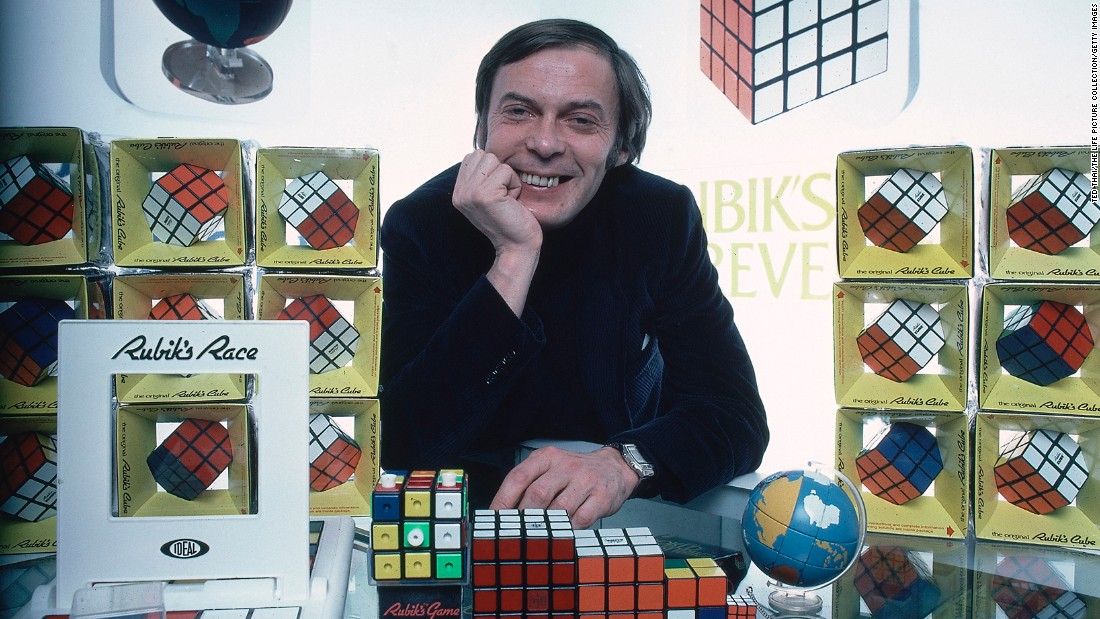 "<strong>Puzzling toy takes hold:</strong> Hungarian architecture professor Erno Rubik invented the iconic Rubik's Cube puzzle in the 1970s. <a href=""https://www.rubiks.com/about/the-history-of-the-rubiks-cube"" target=""_blank"">Originally called ""Magic Cube,""</a> the toy was renamed in 1980, and in 1982, the first International Rubik's Cube Championships took place."