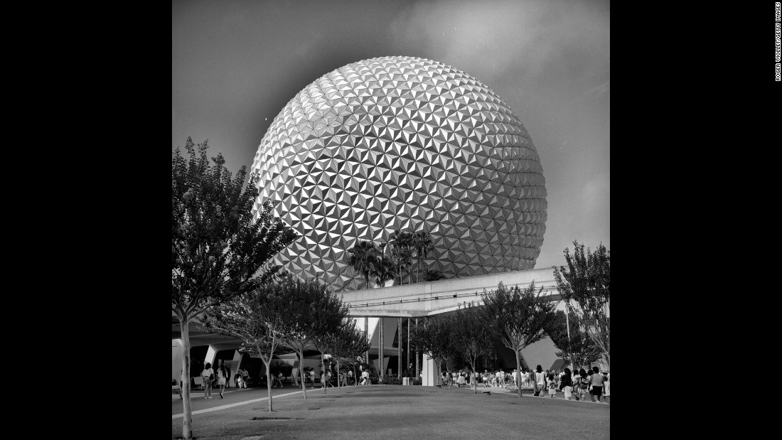<strong>Another magical kingdom:</strong> Epcot Center, Disney's second theme park based in Florida, opened its doors on October 1, 1982, and launched perhaps its most iconic attraction: the giant, spherical Spaceship Earth ride, which explores the history of human communications.