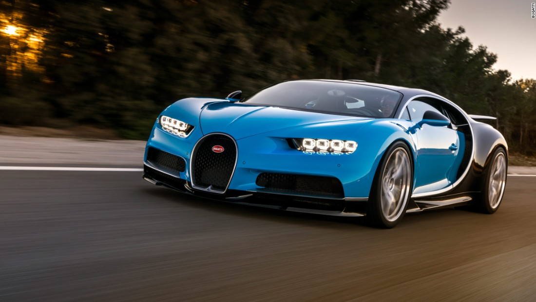 Meet The Worlds Next Fastest Car Bugatti Chiron CNN Video - Show me the fastest car