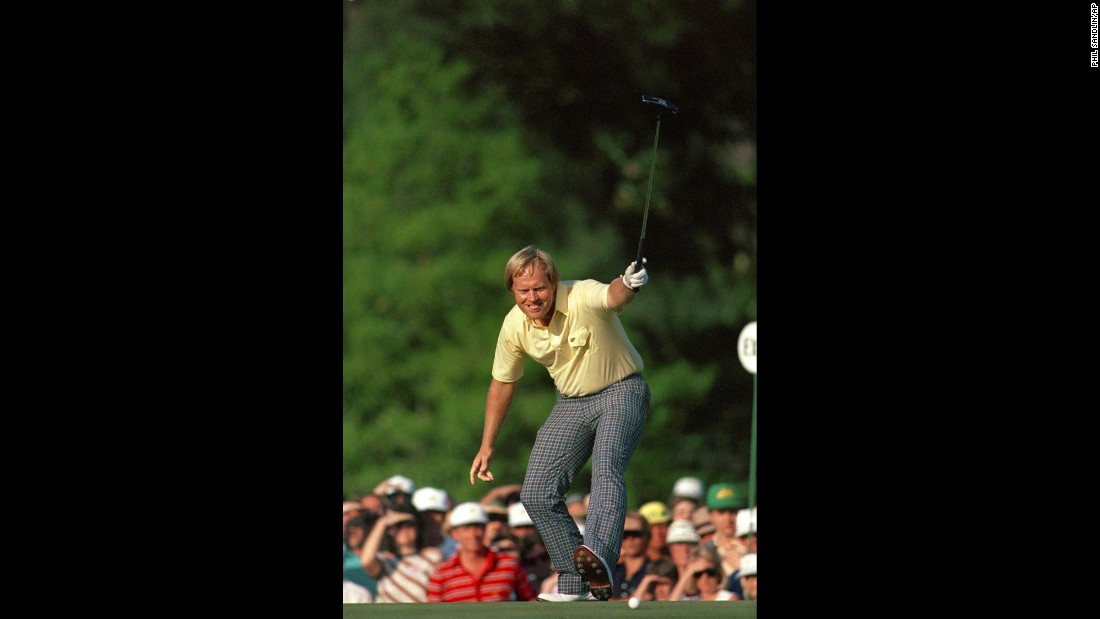 <strong>Sure shot:</strong> Jack Nicklaus, who many consider to be the greatest golfer of all time, won his sixth Masters title on April 13, 1986. He was 46 years old -- the second-oldest player to ever win a major tournament.