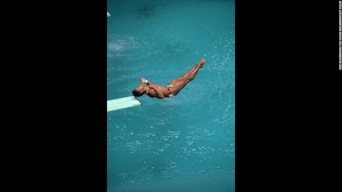 "<strong>That's gotta hurt:</strong> It was the thud heard 'round the world. At the 1988 Olympics in Seoul, South Korea, all eyes were on American diver Greg Louganis, who had been one of the stars of the 1984 Olympics in Los Angeles. He had wowed viewers with his strength and grace, and as he stepped up to the diving board four years later, nothing less was expected. Instead, he hit his head on the board in the middle of a complicated dive. He would <a href=""http://greglouganis.com/bio/"" target=""_blank"">go on to win</a> the event's gold medal, but for a moment, America held its collective breath."