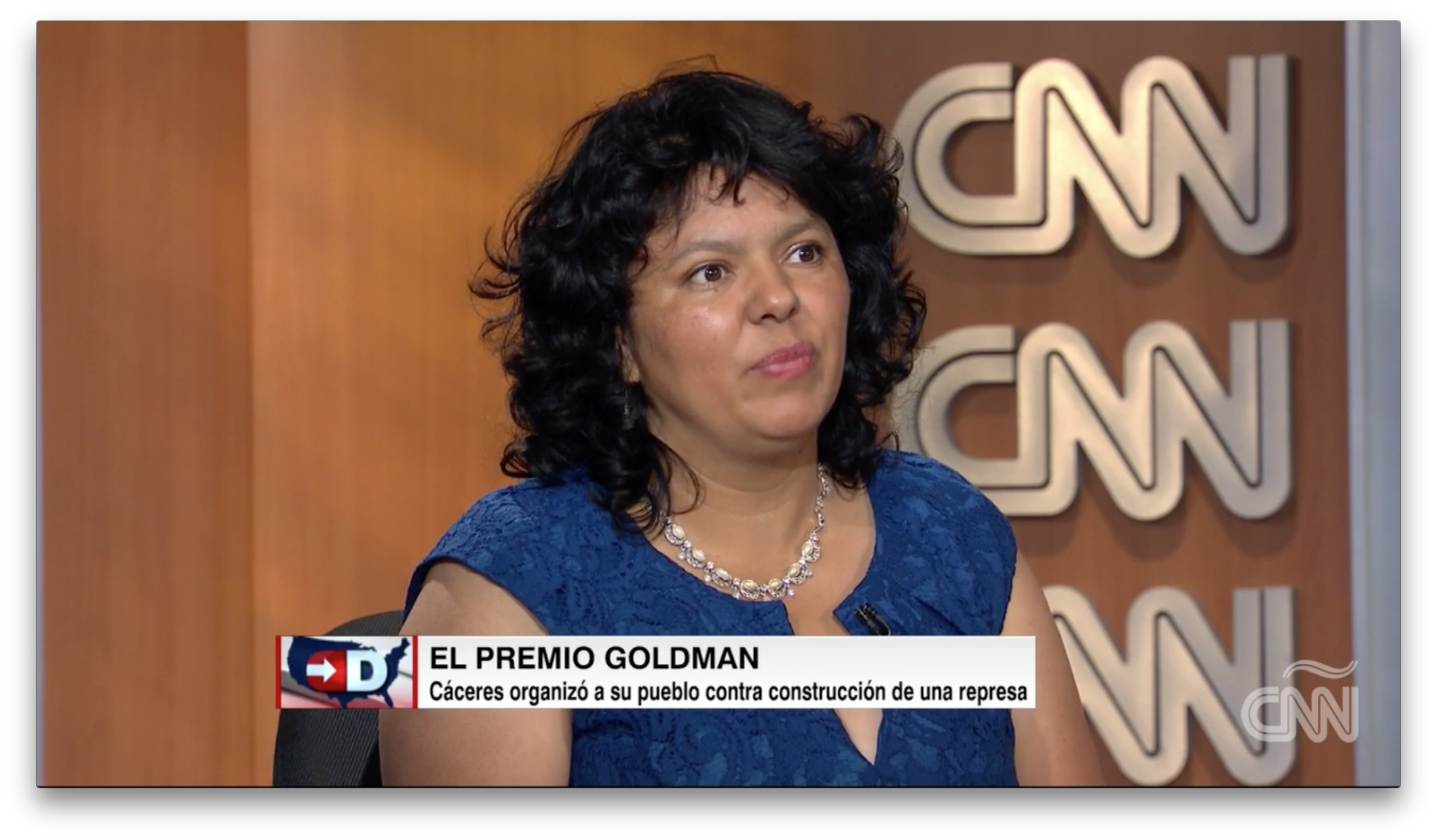 Image result for berta caceres goldman