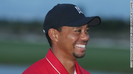 Tiger Woods stunned by 11-year-old's hole in one