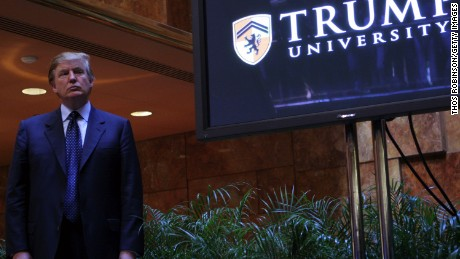 Trump University: The jury is still out