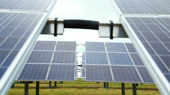 South Africa's George Airport has become the first on the continent to be powered by solar energy. It harnesses 41% of its energy from the sun.
