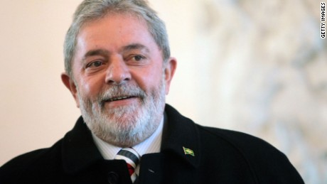 Former Brazilian president questioned by federal police