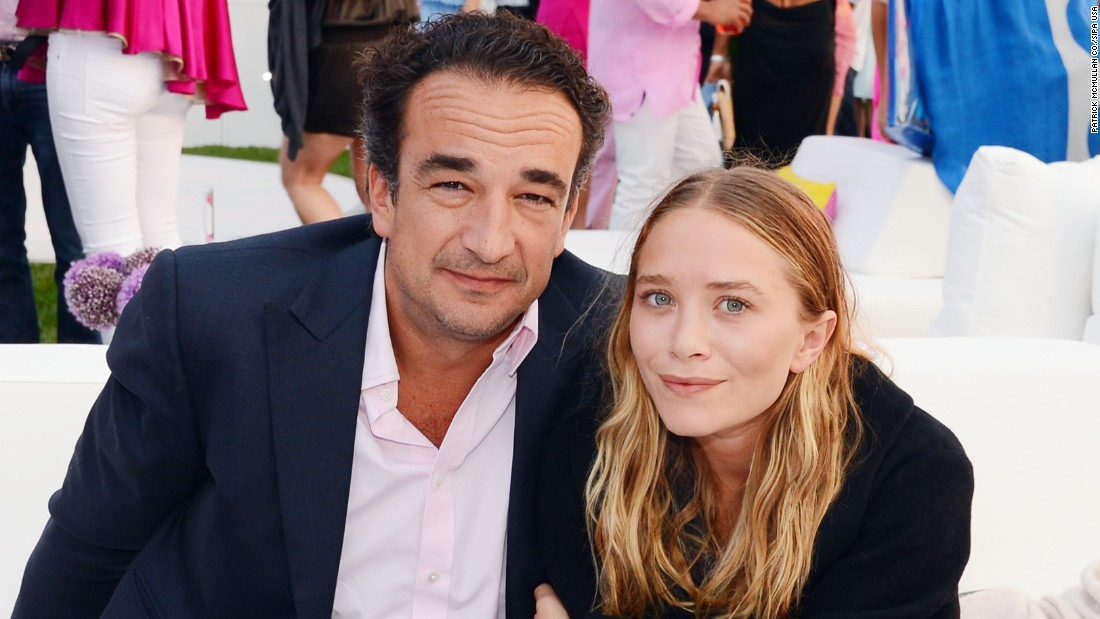 Former child star and fashion designer Mary-Kate Olsen, 29, in 2015 married Olivier Sarkozy, 46, the half-brother of former French president Nicolas.