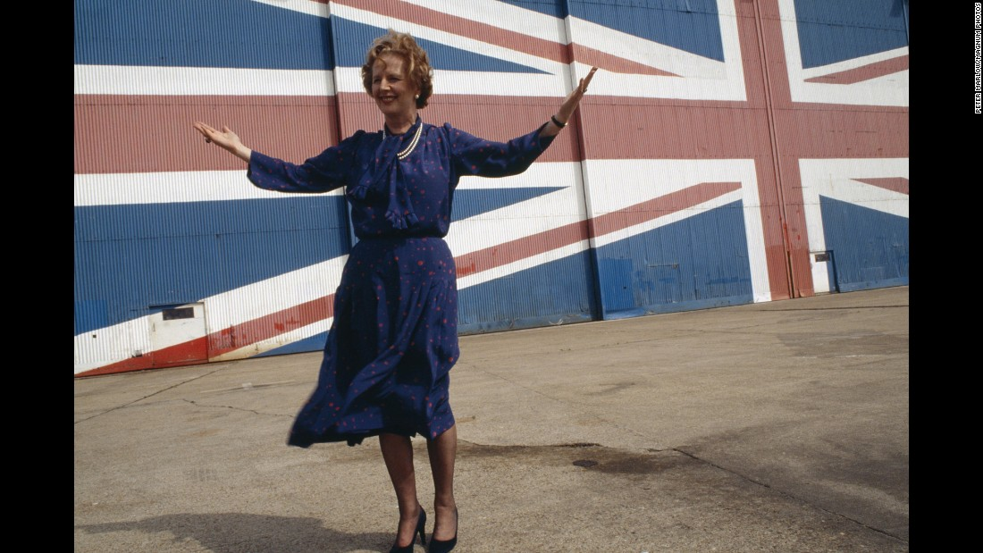 "<strong>Margaret's manifesto:</strong> On the road to re-election, British Prime Minister Margaret Thatcher launched the Conservative manifesto in May 1983. Among other things, the <a href=""http://news.bbc.co.uk/2/hi/uk_news/politics/vote_2005/basics/4393313.stm"" target=""_blank"">manifesto proposed</a> reform of the trade unions' political levy and promised to significantly reduce unemployment."