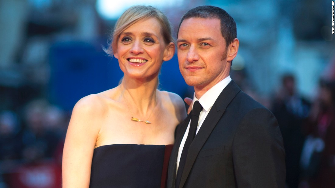 Actors James McAvoy, 37, and Anne-Marie Duff, 46, have been married for 10 years and have one child.