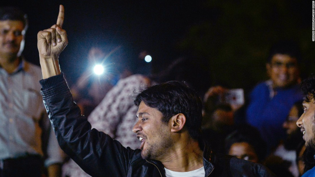kanhaiya kumars post bail speech - 1000×666