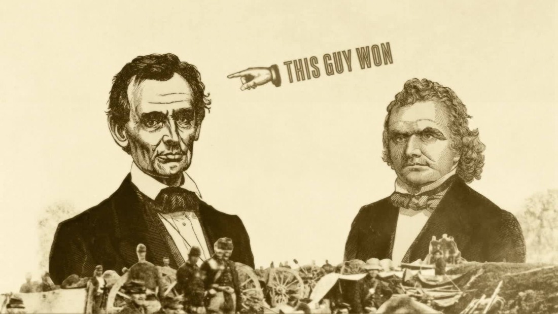 Lincoln And Douglas The Title Match Of Titans Cnn Video