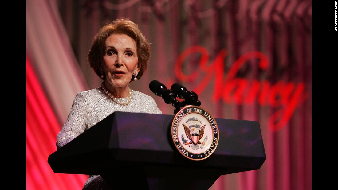 Nancy reagan accomplishments