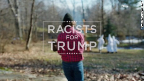 'SNL' parody: Racists for Trump