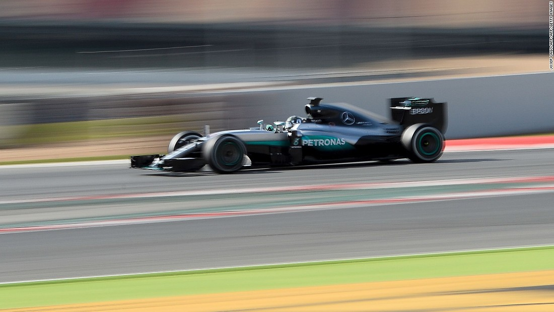 The new Mercedes car showed no signs of slowing over eight days of winter testing Barcelona, putting an impressive 1,294 laps on the clock -- the equivalent of more than 19 races.