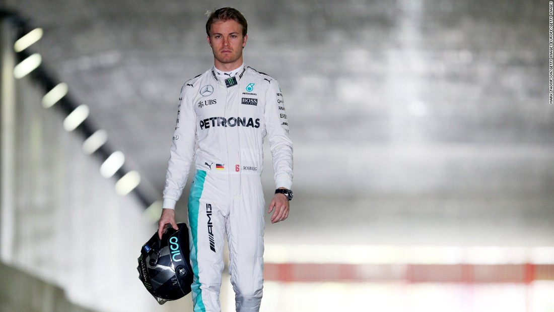 Rosberg -- Webber's teammate during his 2006 rookie season at Williams -- won the last three races of 2015 after Hamilton had clinched the third drivers' championship of his career.