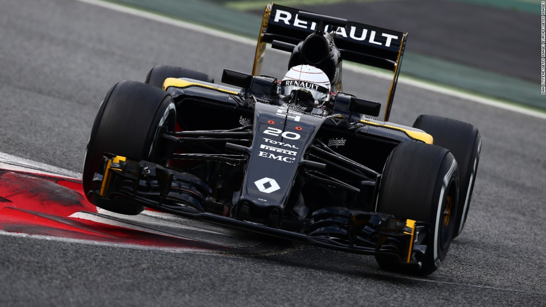 Renault, seen here with its temporary black livery during winter testing last month, has been involved in F1 since the 1970s either as a constructor or engine supplier, but sold its team to Lotus in 2010.