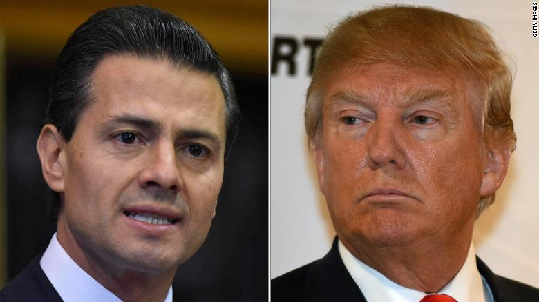 Nieto calls off US visit after call with Trump