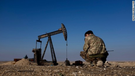 Kurds have been battling with ISIS over control of oil fields in Iraq and Syria.